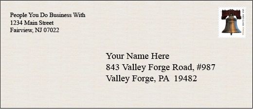 your valley forge postal mailbox has advantages